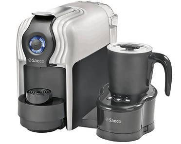 SAECO ONDA Capsule Coffee Machine + Milky Milk Frother - White, 901185 + 930039 - 2071MALL