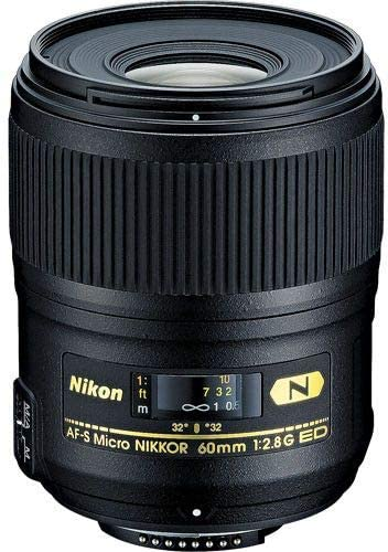 Nikon 60mm f/2.8G ED AF-S Micro-Nikkor Macro Autofocus Lens Imported, B07NDHZFH5 - 2071MALL