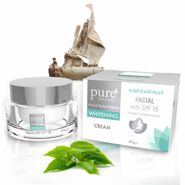Pure Beauty - Whitening Facial Cream SPF 15 50g