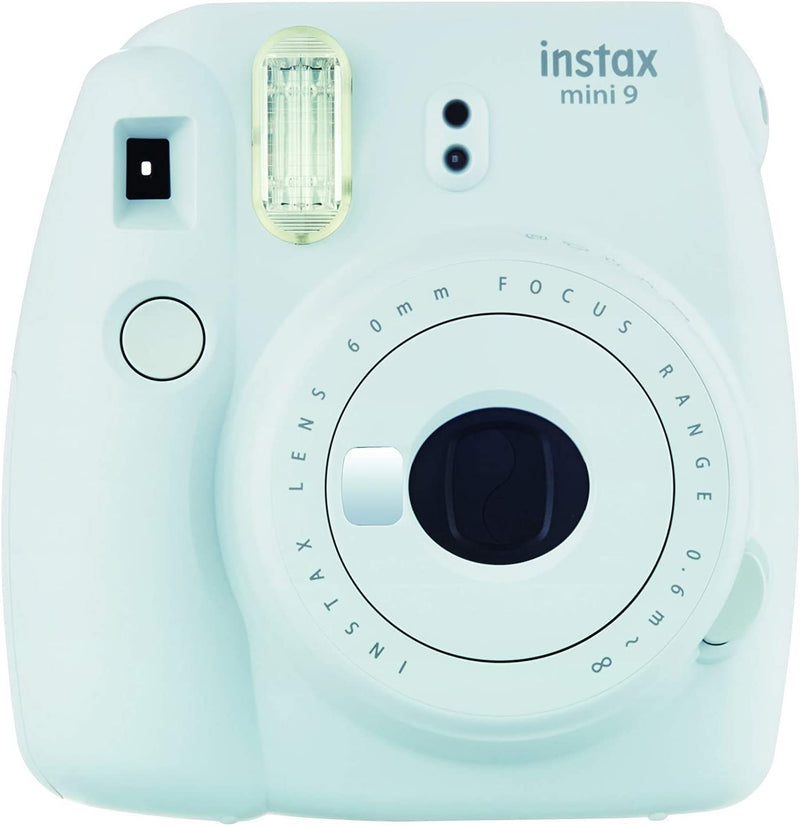 Fujifilm Instax Mini 9 Instant Film Camera, Ice Blue - 2071MALL