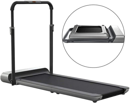 WalkingPad Kingsmith R1 Treadmill Foldable Running Walking Pad with Remote Control | speed 0.5-10 km/h | Walking in the Office, Home |Quiet Operation | English Version - 2071MALL