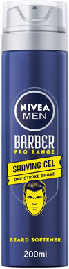 Nivea Men Barber Pro Range Shaving Gel 200ml - 2071MALL