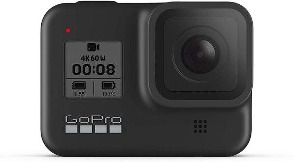 GoPro HERO 8 Waterproof Action Camera with Touch Screen 4K Ultra HD Video 12MP Photos 1080p Live Streaming Stabilization - Black - 2071MALL