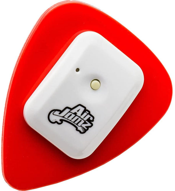 Airjamz App-Enabled Bluetooth Music Toy, Electric Air Guitar And More For Your Ios Mobile Phone Or Tablet, Red, Powered By Zivix - 2071MALL