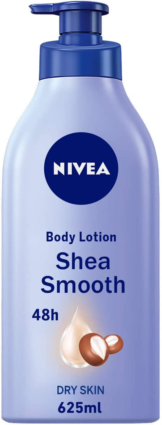 Nivea Body Lotion Smooth Sensation For Dry Skin 625ml - 2071MALL