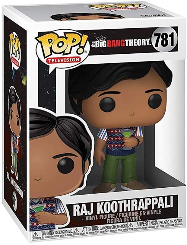 Funko Pop Tv: Big Bang Theory S2 - Raj - 2071MALL