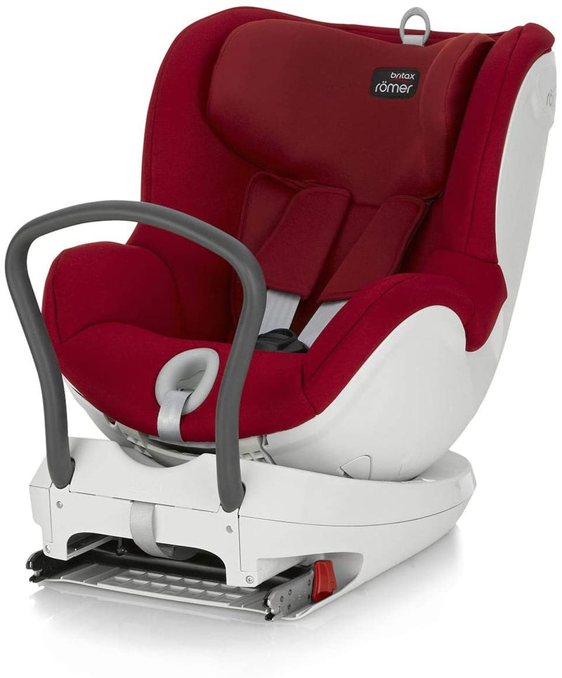 Britax Romer Dualfix Br From 0- 4 Years , Flame Red  - Distressed Package - 2071MALL