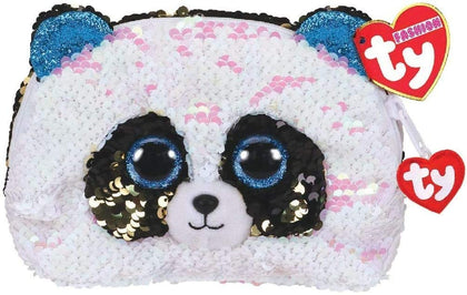 Ty Fashion Sequin Panda Bamboo Accessory Bag - 2071MALL