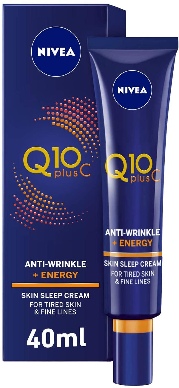 Nivea Face Q10 Plus C Anti-Wrinkle Night Care 40ml - 2071MALL