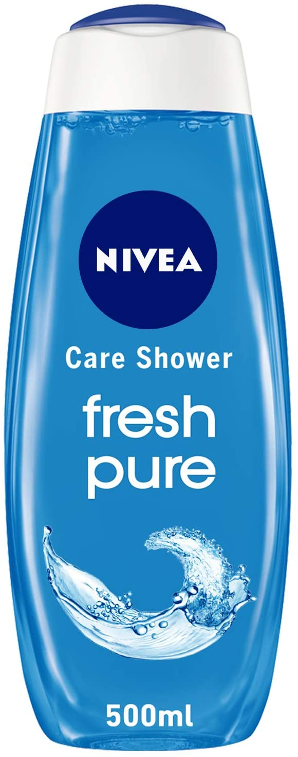 Nivea Shower Gel Pure Fresh 500ml - 2071MALL