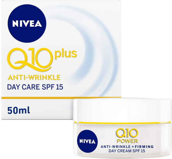Nivea Face Q10 Plus Anti-Wrinkle Day Care 50ml - 2071MALL