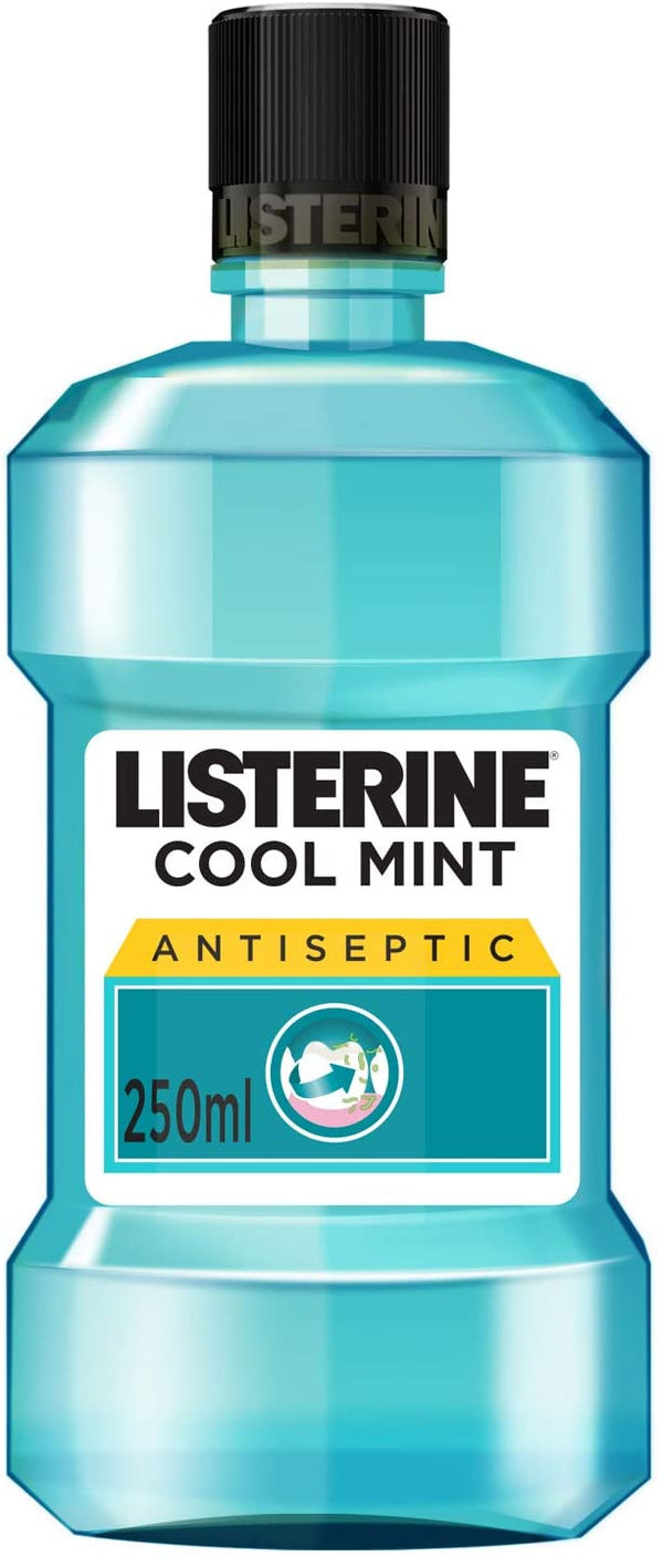 Listerine Mouthwash Cool Mint 250ml - 2071MALL