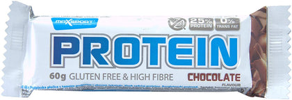 MAXSPORT Protein Chocolate Bar Gf 60g - 2071MALL
