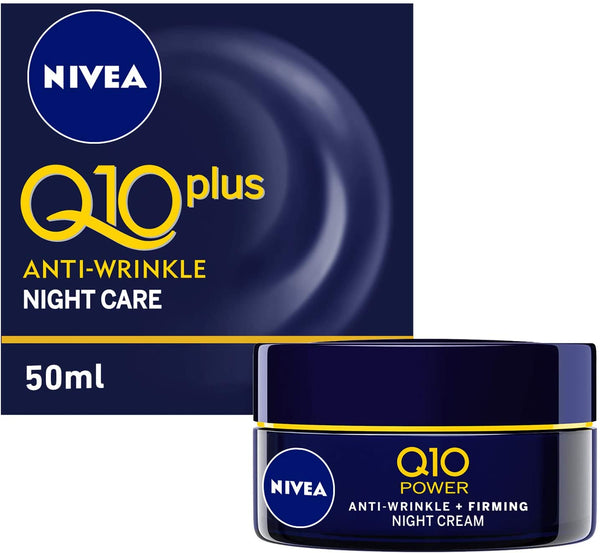 Nivea Face Q10 Plus Anti-Wrinkle Night Care 50ml - 2071MALL