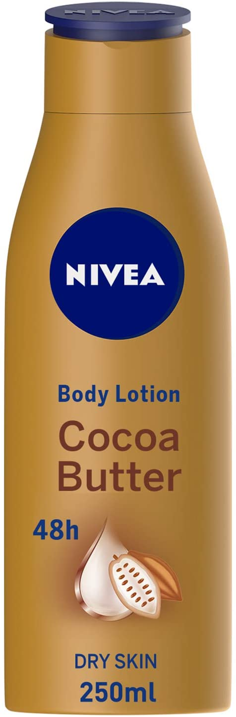 Nivea Body Lotion Cocoa Butter For Dry Skin 250ml - 2071MALL