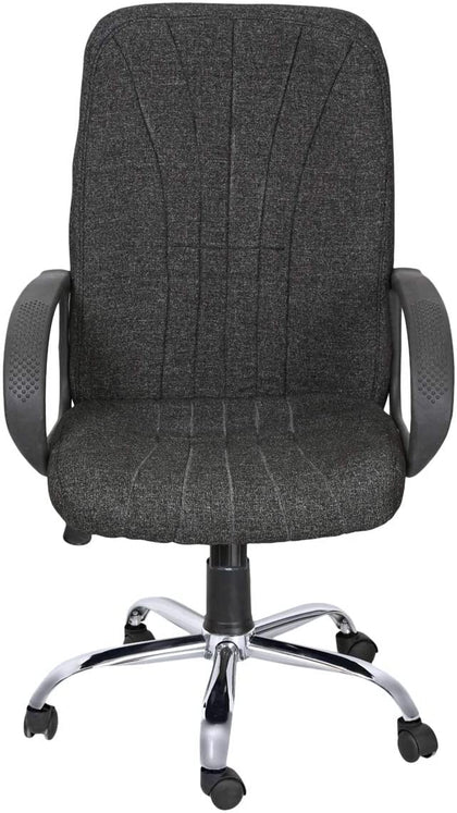 Galaxy Design Office Chair with Wheels - Black/Grey, GDF GALAXY DESIGN FURNITURE, Black/Silver, GDF-309 - 2071MALL
