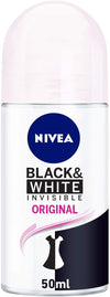 Nivea Deo Roll-On Black & White Original 50ml - 2071MALL