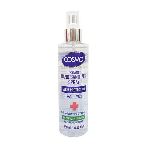 COSMO Instant Hand Sanitizer Spray 250ml