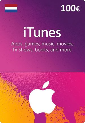iTunes Netherlands €100 Euro (EUR) - 2071MALL