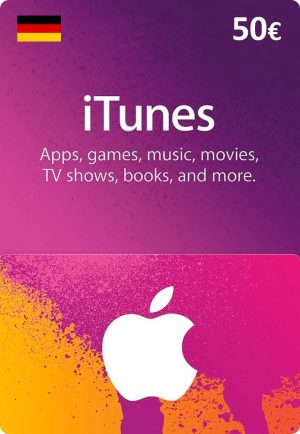 iTunes Germany €50 Euro (EUR) - 2071MALL
