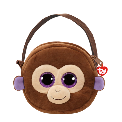 Ty Fashion Monkey Coconut Brown Purse - 2071MALL