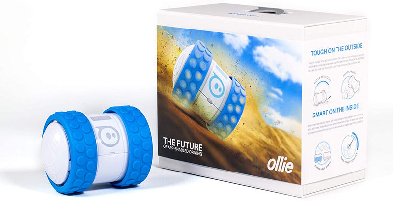 Orbotix Sphero Ollie App Controlled Robot Toy - White, 1B01RW1-Blue - 2071MALL