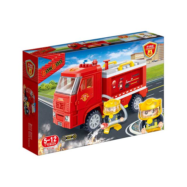 Banbao Fire Series, 126Pcs 7116 - 2071MALL