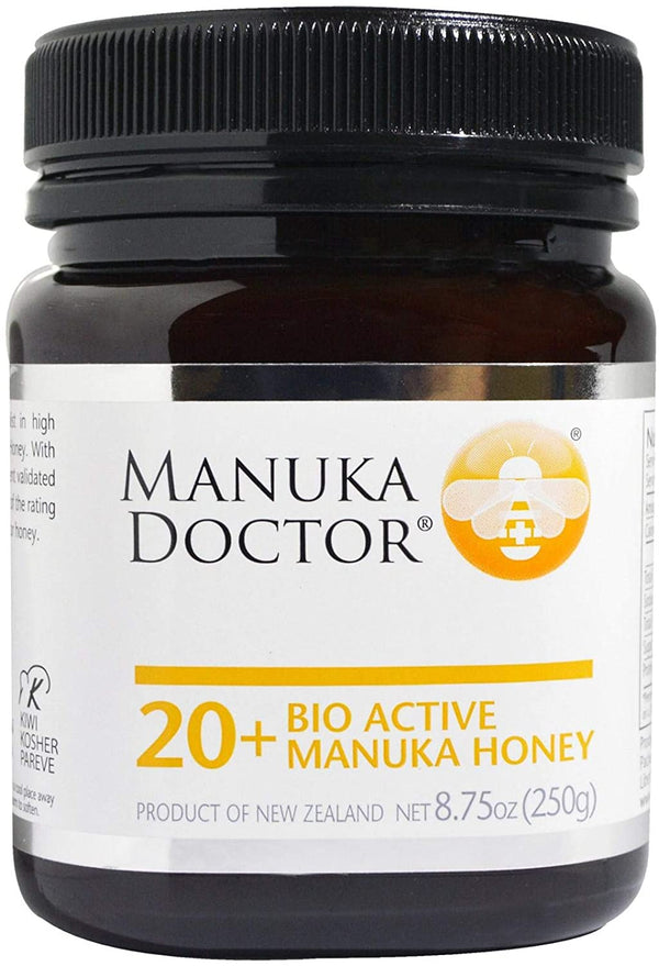 Manuka Doctor, 20+ Bio Active Manuka Honey, 8.75 oz (250 g) - 2071MALL
