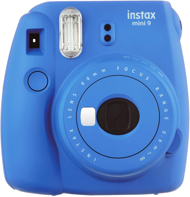 Fujifilm Instax Mini 9 Instant Film Camera, Cobalt Blue - 2071MALL