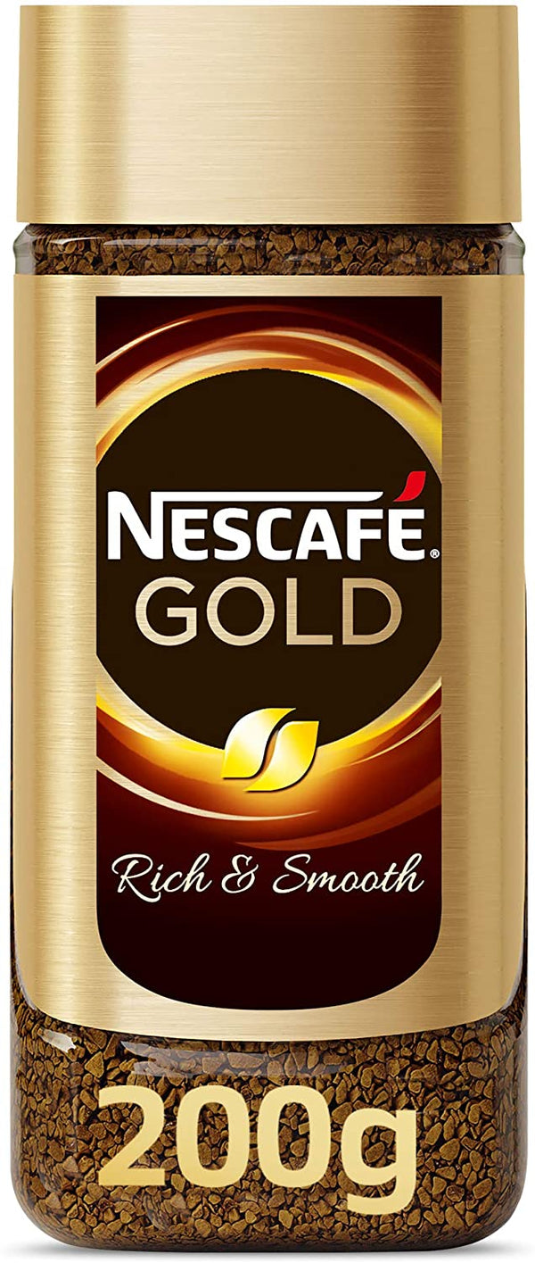 Nescafe Gold Instant Coffee 200g - 2071MALL