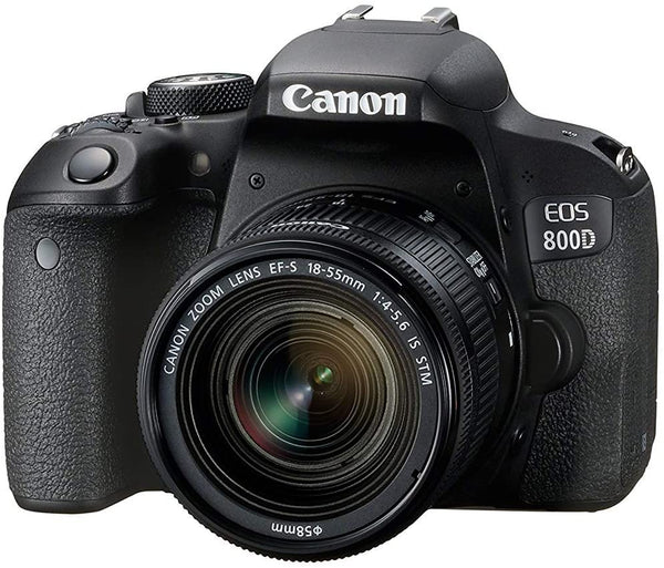 Canon EOS 800D/ EF-S /18-55 F/ IS /STM/ DSLR Camer/1895C008AA/Black - 2071MALL