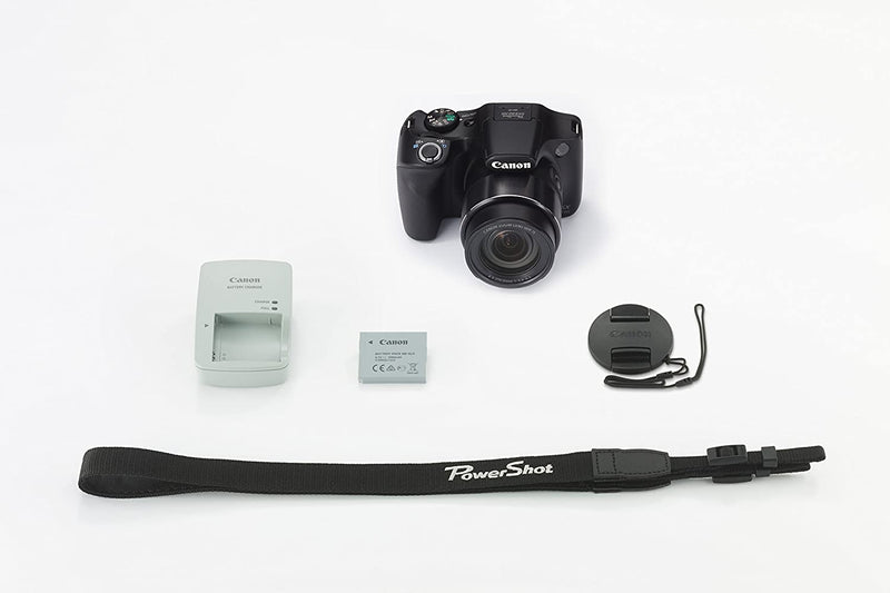 Canon PowerShot SX540 HS, 20.3MP Digital Camera - Black/B019UDIAI6 - 2071MALL