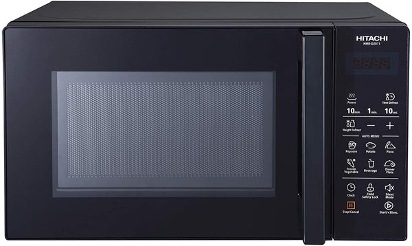 Hitachi 20Ltr Microwave Touch Panel Control Black Color HMRD2011 Black - 2071MALL