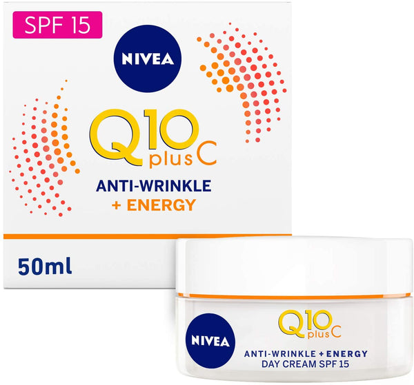 Nivea Face Q10 Plus C Anti-Wrinkle Day Care 50ml - 2071MALL