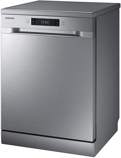 Samsung 6 programmes 13 place settings Free standing Dishwasher, Silver - DW60M6040FS, 1 Year Manufacturer Warranty - 2071MALL