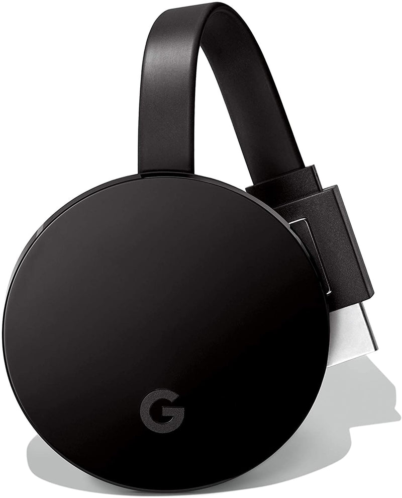 Google Chromecast Ultra 4K Streaming Media Black, GA3A00403A14 - 2071MALL