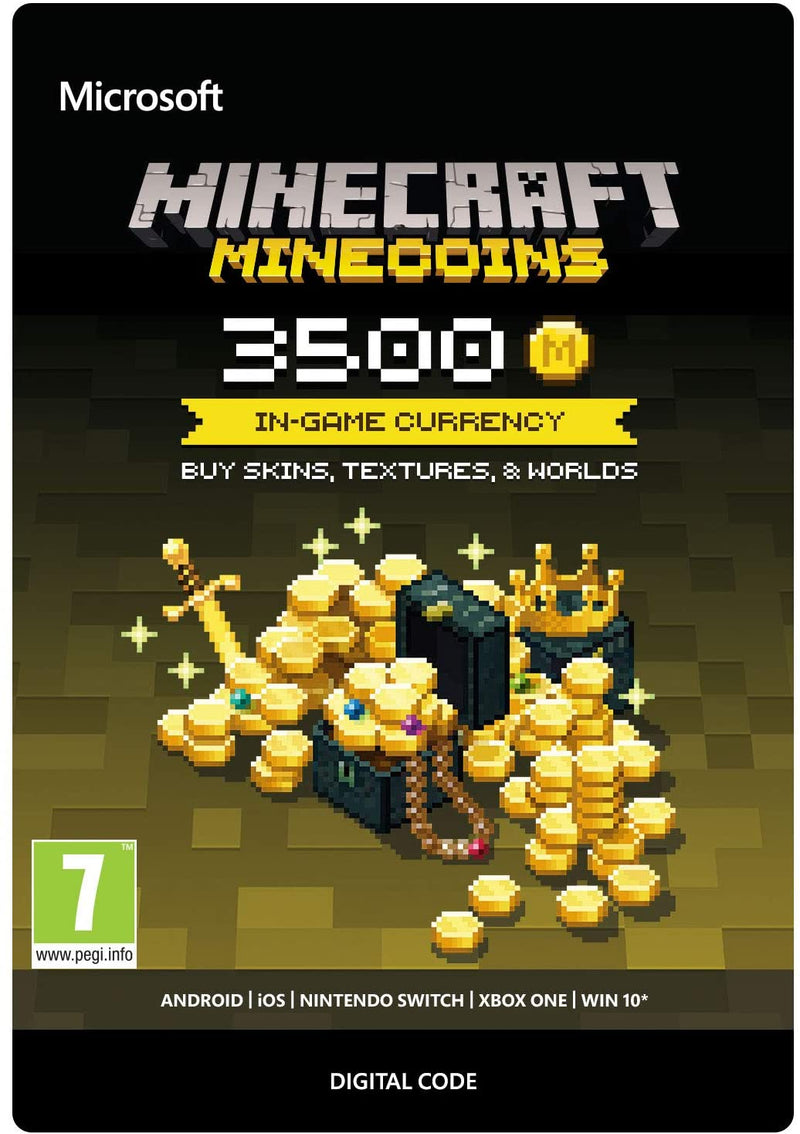 Minecraft Minecoin Pack 3500 Coins - 2071MALL