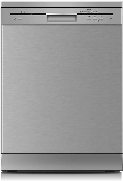 Sharp 12 Place settings 6 Programs Free Standing Dishwasher, Steel - QW-MB612-SS3 - 2071MALL