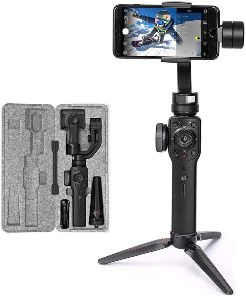 Zhiyun Smooth 4 Mobile Gimbal Stabilizer For Smartphones - Black - 2071MALL