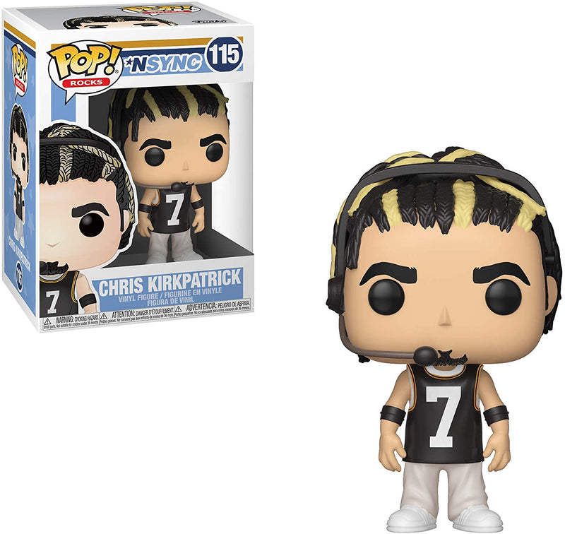 Funko Pop Rocks Nsync - Chris Kirkpatrick - 2071MALL