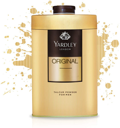 Yardley Original Classic Perfumed Talcum Body Powder, 250 gm - 2071MALL