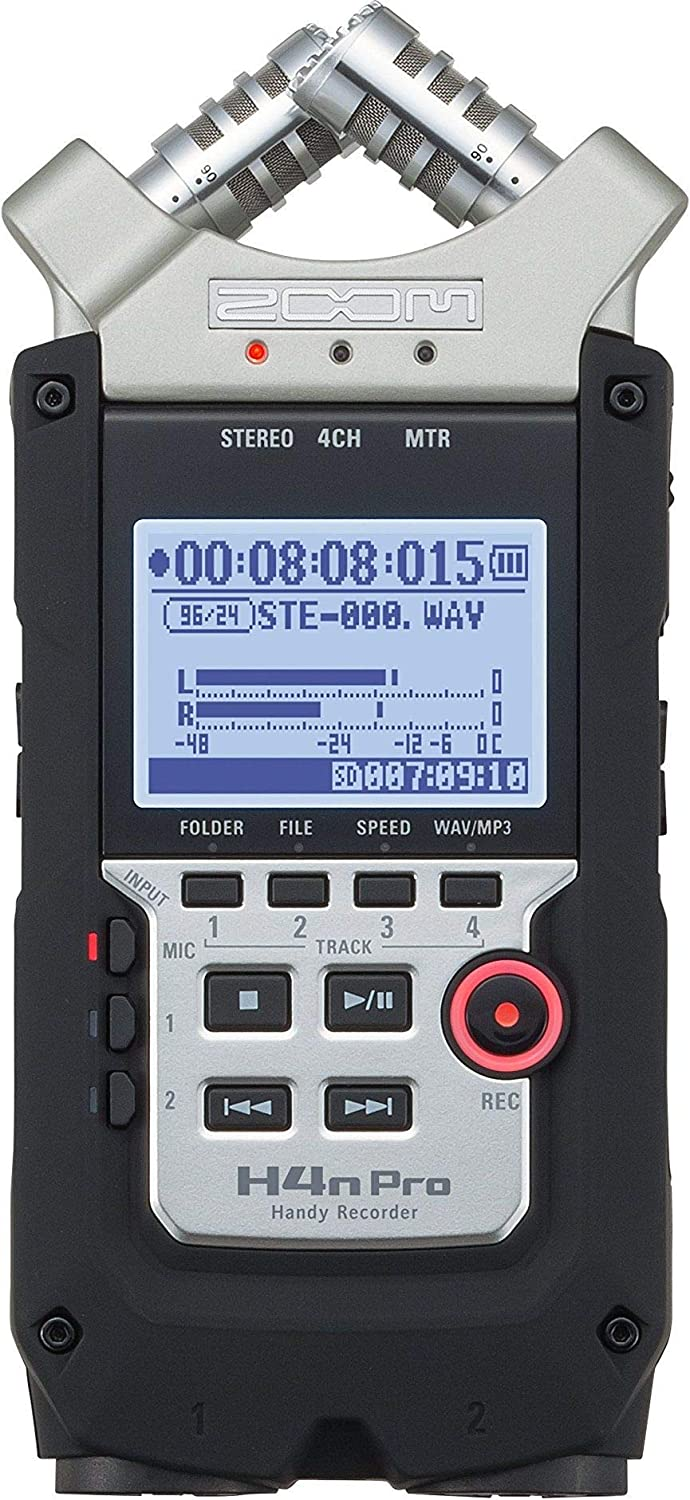 Zoom H4n Pro 4-Channel Handy Recorder - 2071MALL