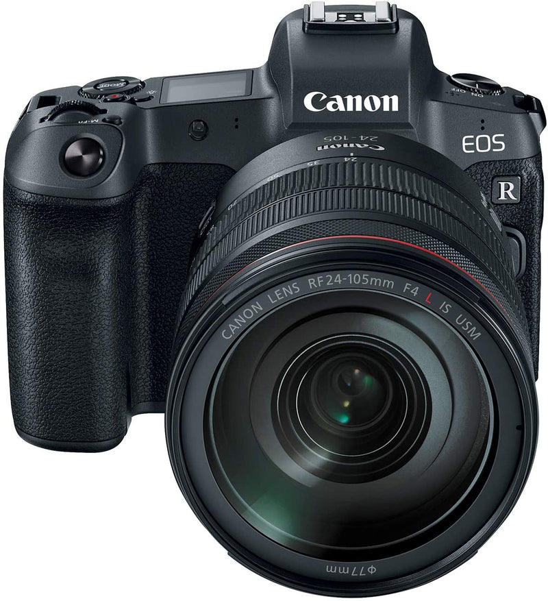 Canon EOS R/ RF 24-105mm/F4L IS USM Lens/Digital Full Frame Mirrorless Camera/ Black - 2071MALL