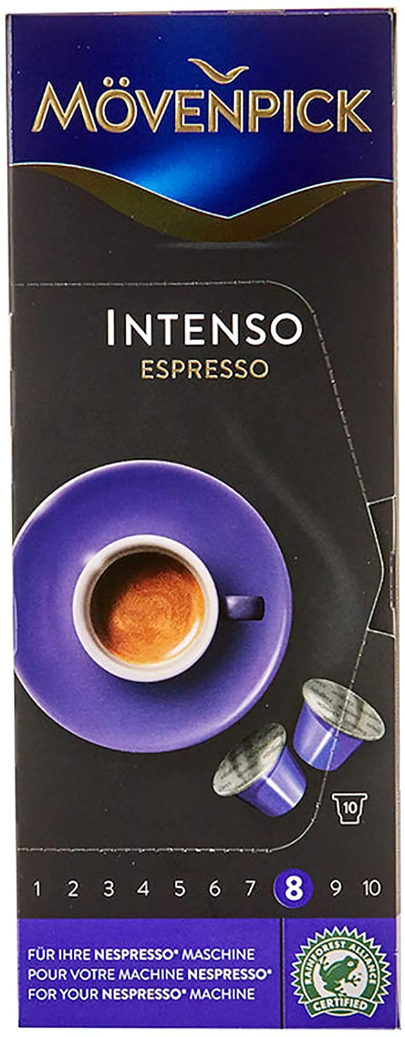 Movenpick Intenso Espresso Coffee Capsule 53g - 2071MALL