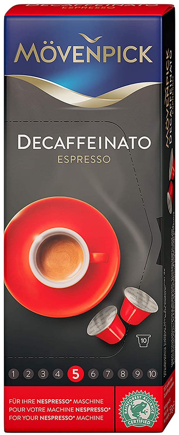 Movenpick Decaffeinato Espresso Coffee Capsule 53g - 2071MALL
