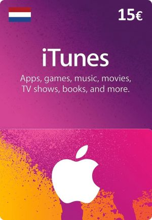 iTunes Netherlands €15 Euro (EUR) - 2071MALL