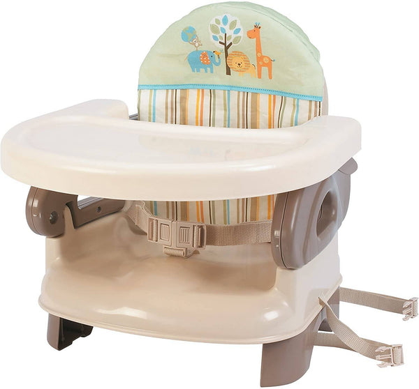 Summer Infant Deluxe Comfort Folding Booster Seat-Safari Stripe - 2071MALL