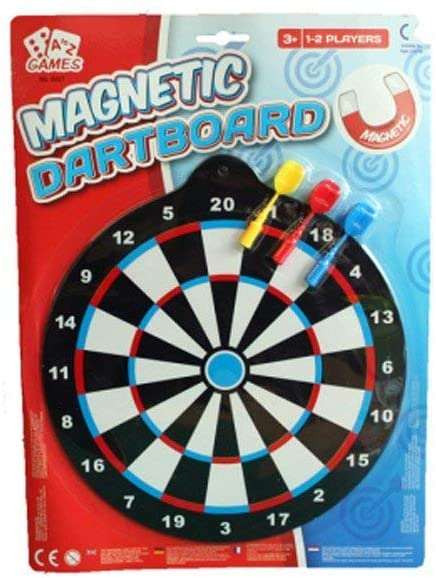 A To Z Magnetic Dart Board, 11214N - 2071MALL