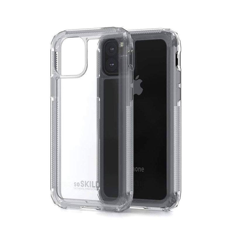 Soskild - Defend 2.0 Impact Case Transparent & Tempered Glass Screen Protector (Iphone 11 Pro) - Clear, SOS-IMPTEM-0036 - 2071MALL
