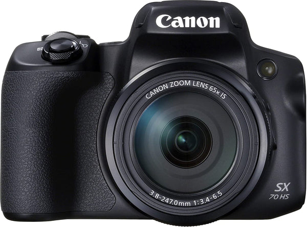 Canon Power Shot SX70 HS 4K UHD/20.3 MP/Black - 2071MALL